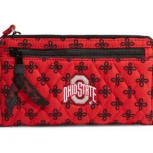 Vera Bradley Ohio State Univ. Front Zip Wristlet